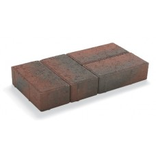 50mm Block Paver Red Brindle 8.48m² pk 424 pk
