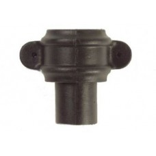 Cast Iron Style Plastic Rnd Pipe Coupler