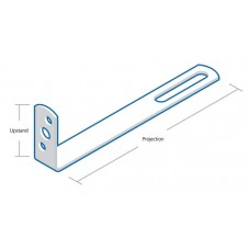 Frame Cramp Restraint Tie 200mm projection 44mm upstand Galvanised Steel