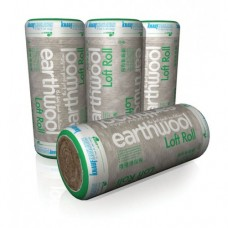 Knauf Earthwool Loft Roll 44 Combi-cut Glass Mineral Insulation 100mm Deep 13.89sqm