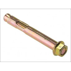 Loose hex nut sleeve anchor 12 x 129mm. 81mm maximum fixing thickness.