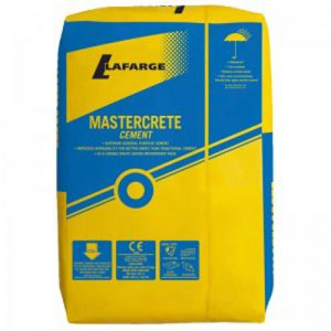 Mastercrete Blue Circle in Plastic Bag 25kg