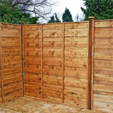 4FT X 6FT Overlap Fence Panel 44mm clip