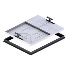 T16G3 Recessed Manhole Cover and Frame