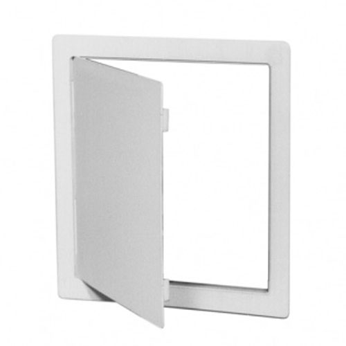 Plastic Access Doors : White plastic access panel to fit hole mm