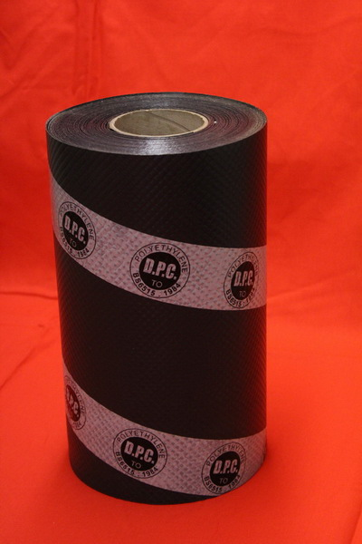 Plastic Damp Proof Coursing BS6515 225mm X 30m