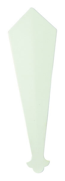 PVC White Finial Finial RT23 340mm