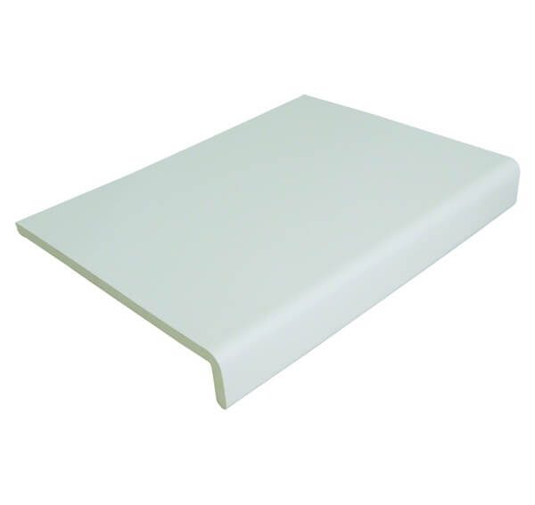 PVC White Cover Fascia Board 300mm x 9mm x 5m Single Leg