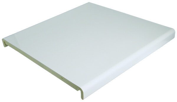 PVC White Box End Full Replacement Board 450mm x 9mm x 1.25m