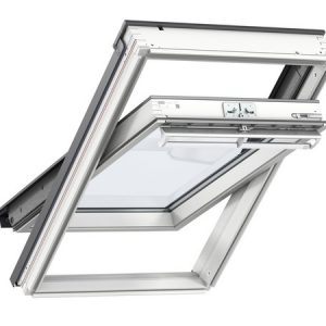 Velux White Painted Centre Pivot Roof Window 1140 x 1180mm