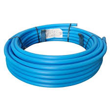 MDPE Blue Pipe 25mm X100m