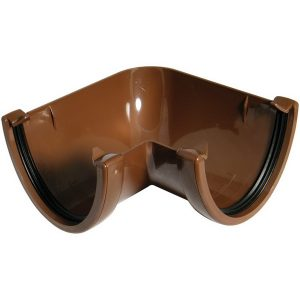 Hicap Brown 90° Gutter Angle