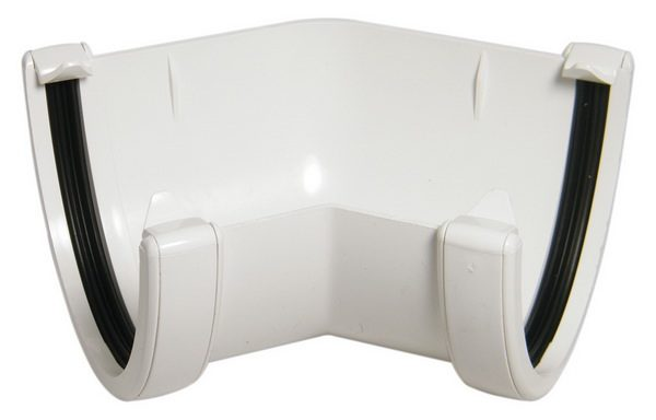 Hicap White 135° Gutter Angle