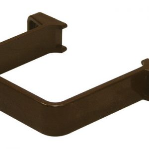 65mm Brown Square Down Pipe Clip