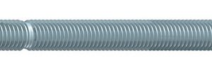 M12 x 160mm threaded stud with nut and washer in BZP steel. Pack of ten