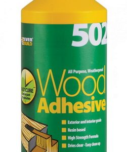 502 All Purpose Weatherproof Wood Adhesive 1 Litre