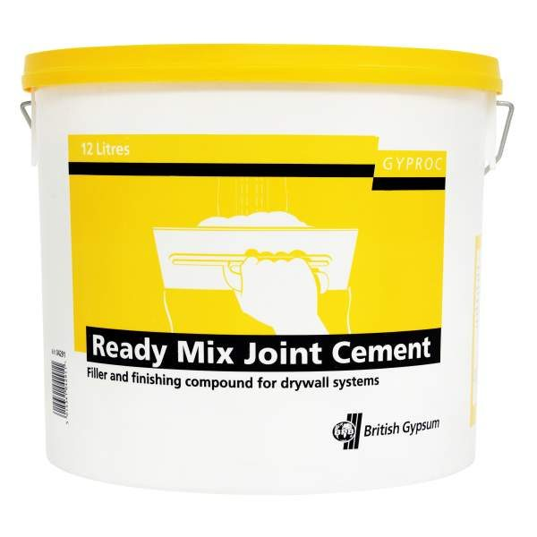 Gyproc Ready Mix Joint Cement - 12L